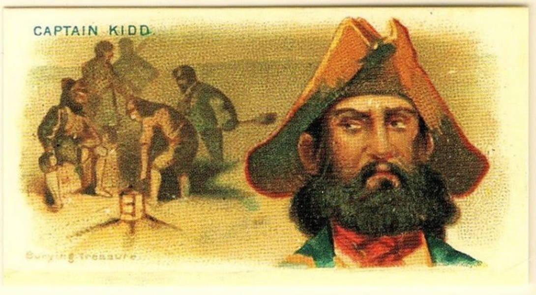 Captain Kidd's ill-gotten gains | What makes us humans want to explore?