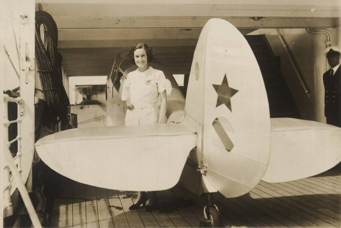 Jean Batten taking to the skies | What makes us humans want to explore?