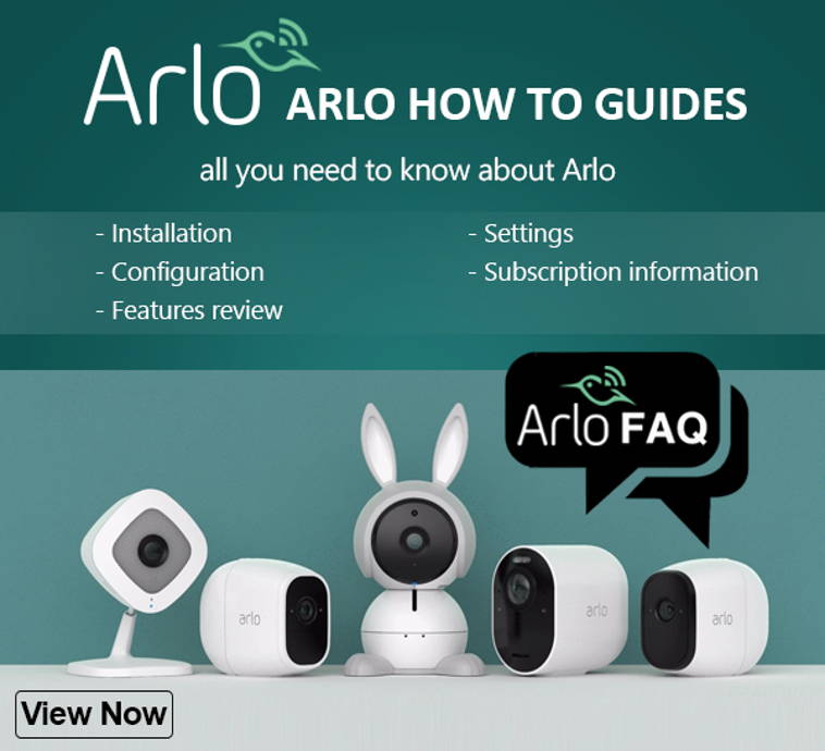 Arlo camera frequently asked questions