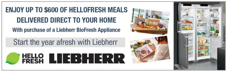 Liebherr BioFresh Fridge Promotion