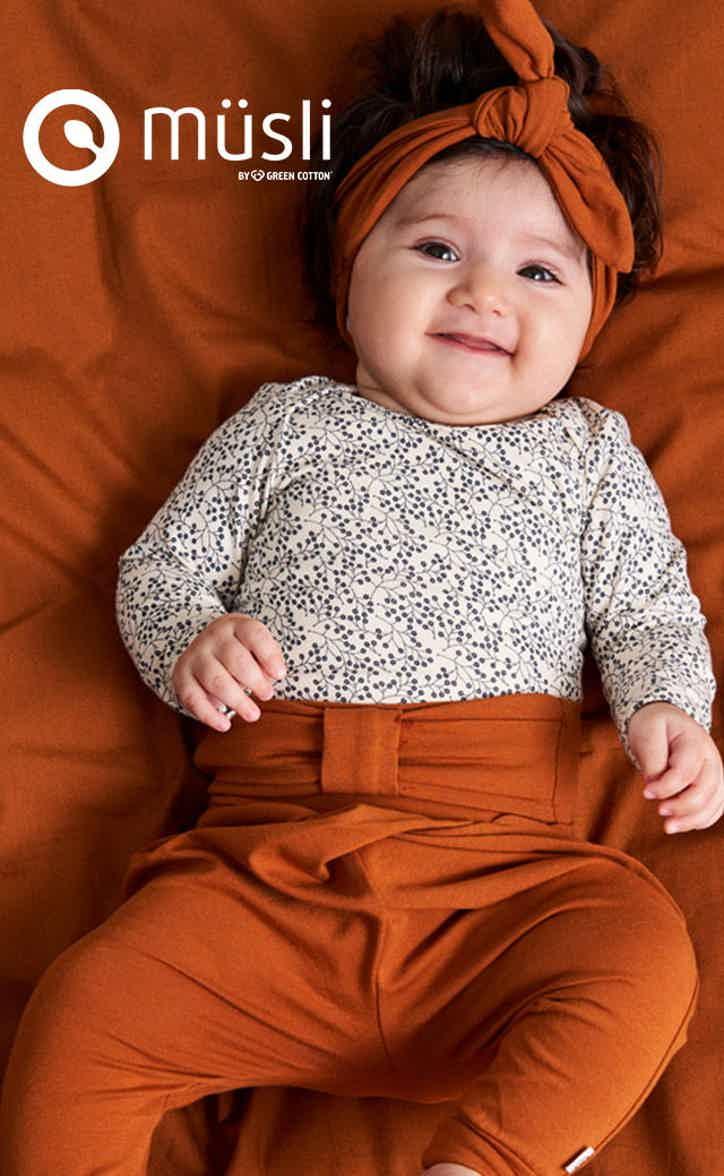M/ädchen Bird Bodysuit Bird bodysuit Freds World by Green Cotton Baby